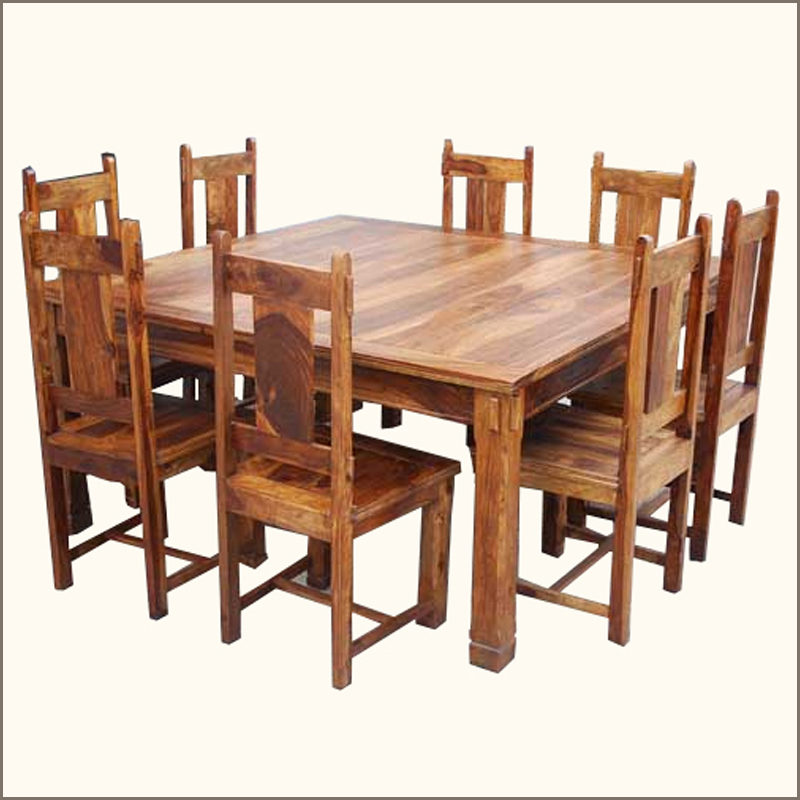 square dining table sets photo - 3