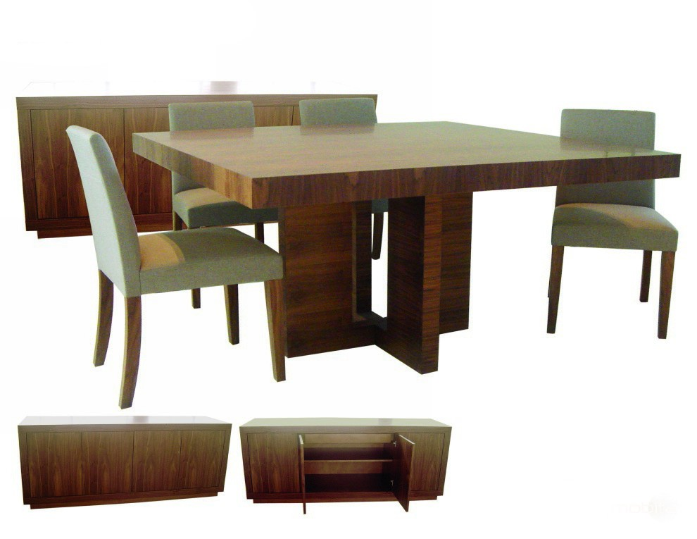 square dining table sets photo - 4