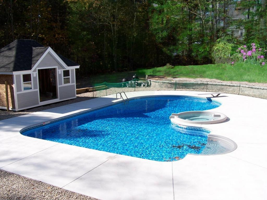 swimming pool backyard ideas photo - 1