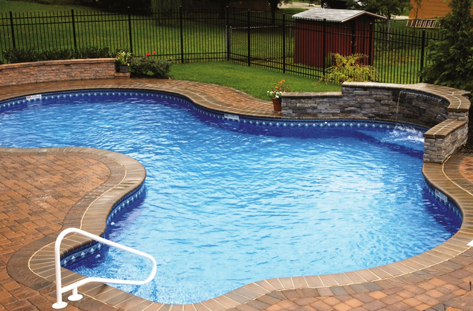 swimming pool backyard ideas photo - 10