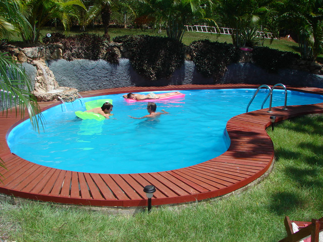 swimming pool backyard ideas photo - 6