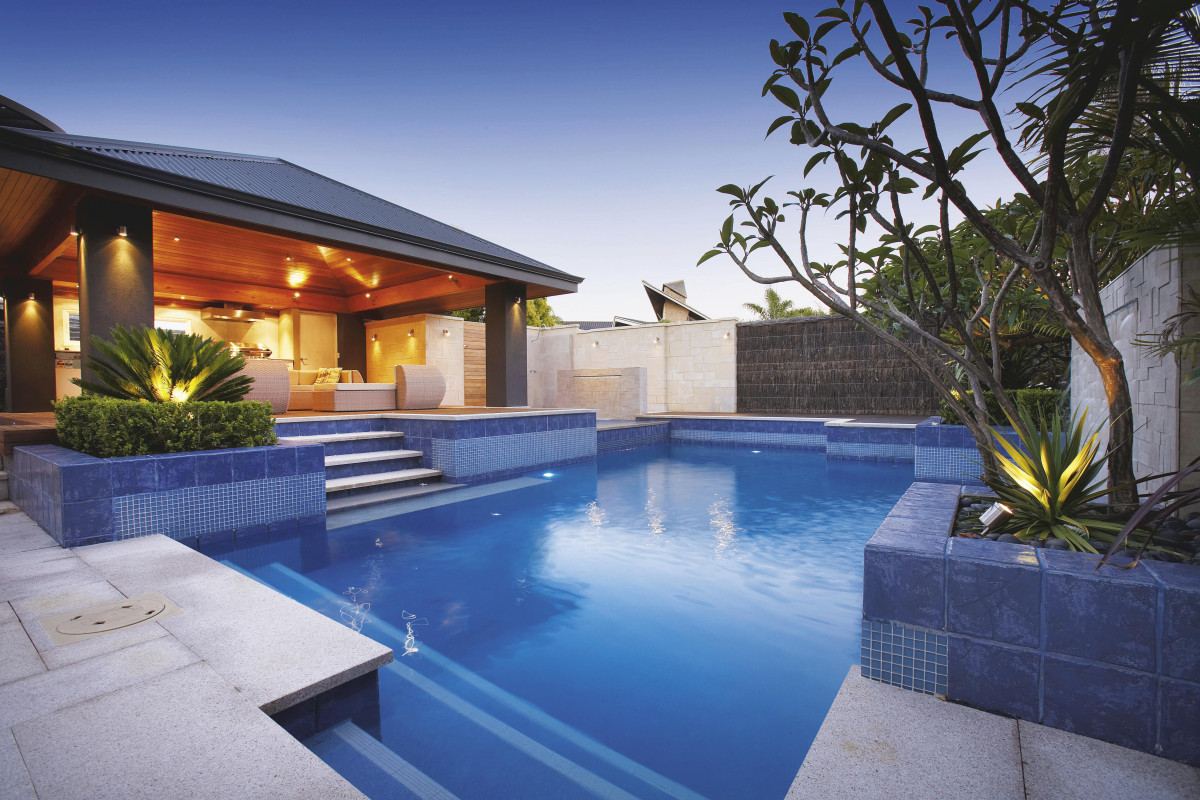 swimming pool backyard ideas photo - 9