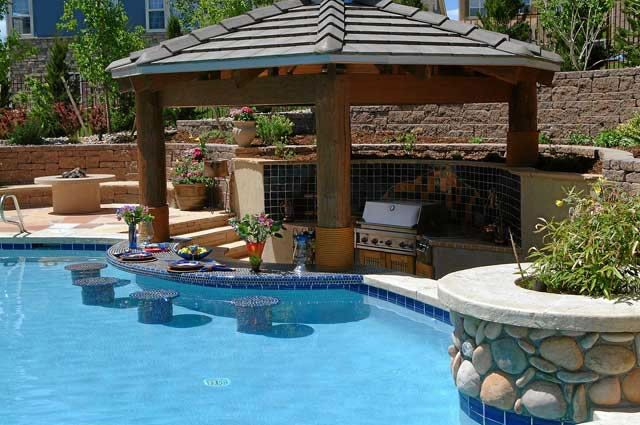 swimming pool bar ideas photo - 2