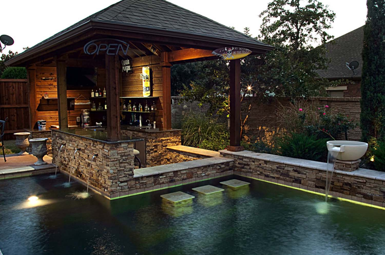 swimming pool bar ideas photo - 3