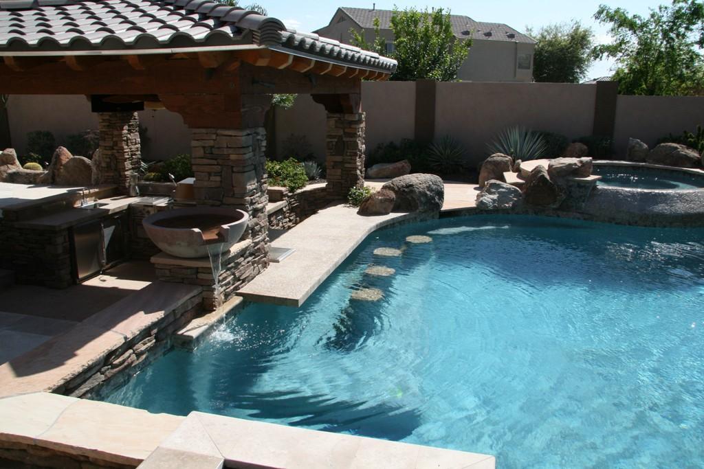 swimming pool bar ideas photo - 5
