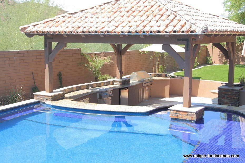 swimming pool bar ideas photo - 6