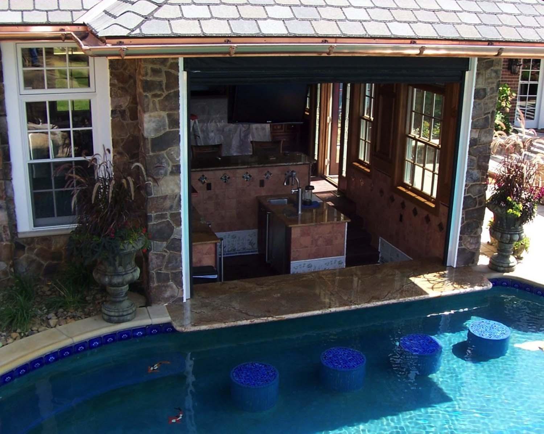 swimming pool bar ideas photo - 8