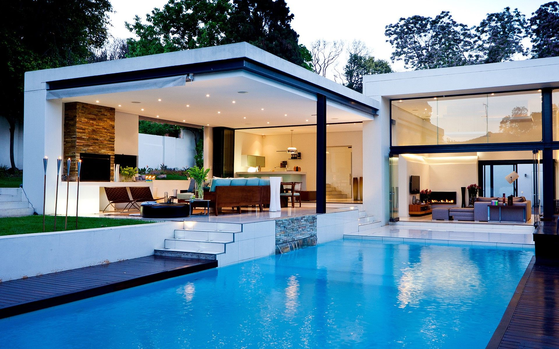 swimming pool design house photo - 10