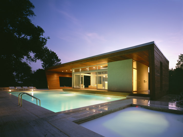 swimming pool design house photo - 2