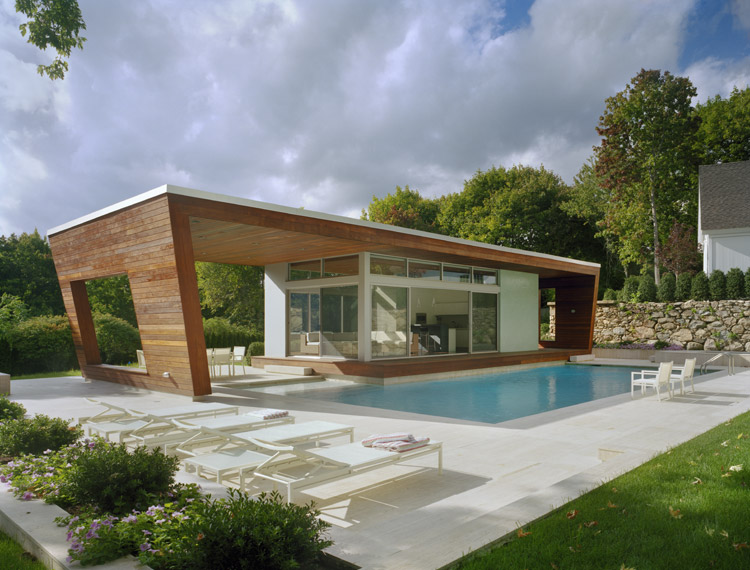 swimming pool design house photo - 3