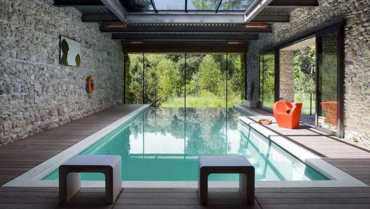 swimming pool design house photo - 8