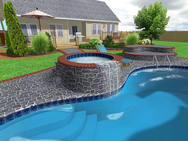 swimming pool designs and plans photo - 4