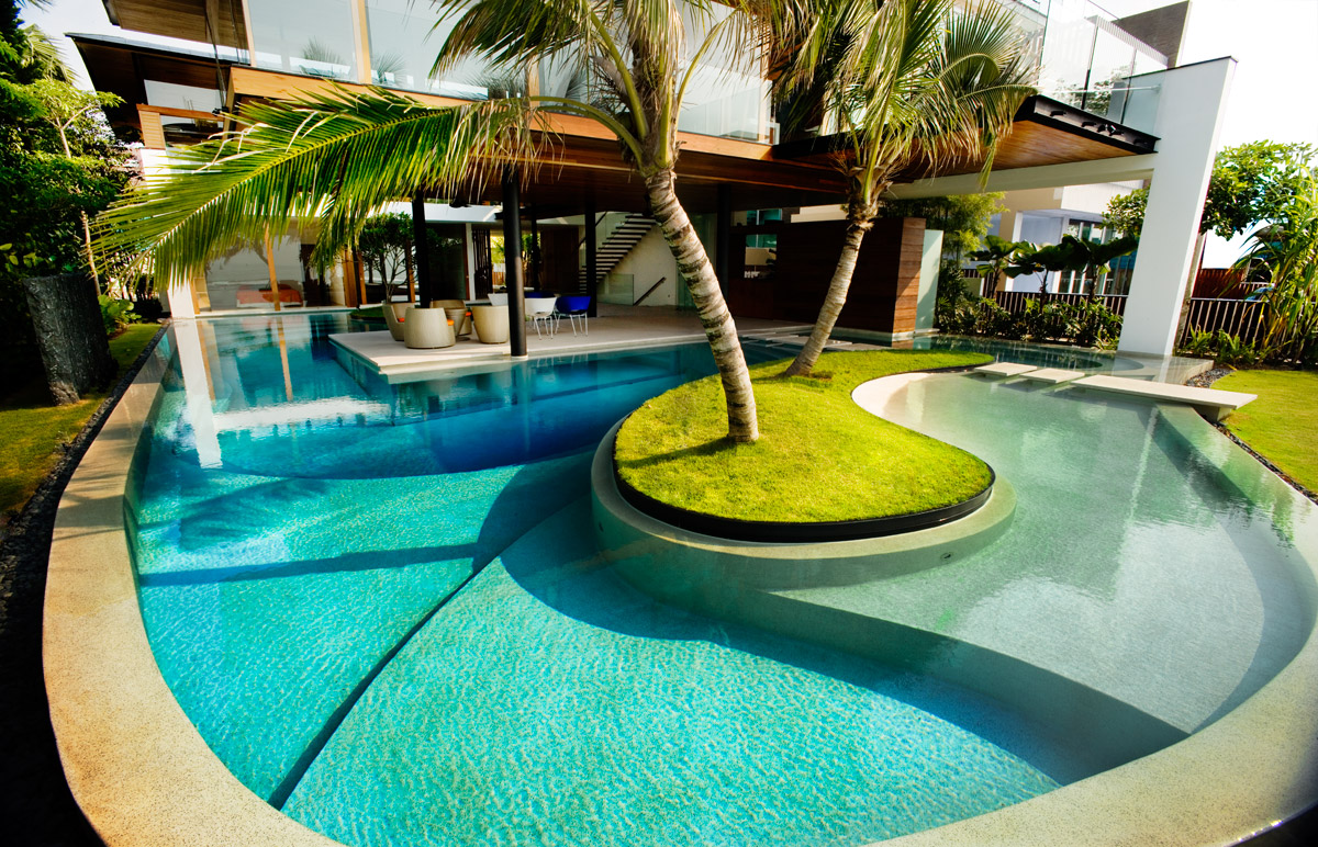 swimming pool designs and plans photo - 9