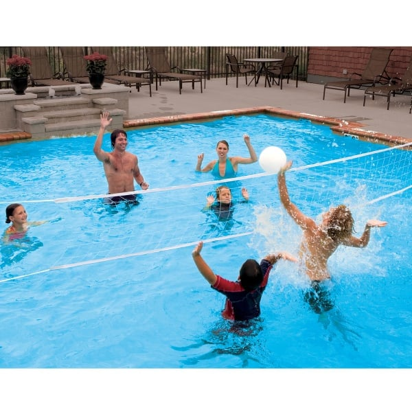 swimming pool designs for volleyball photo - 10