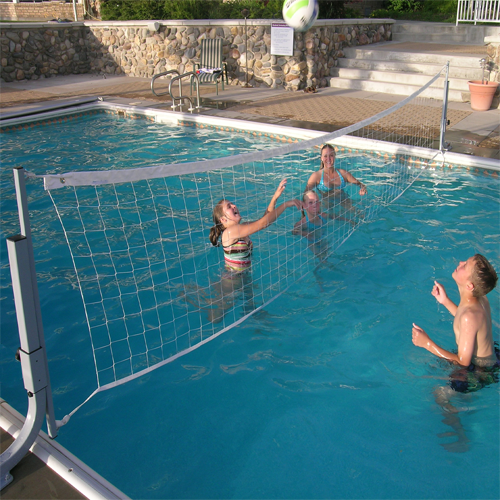 swimming pool designs for volleyball photo - 2