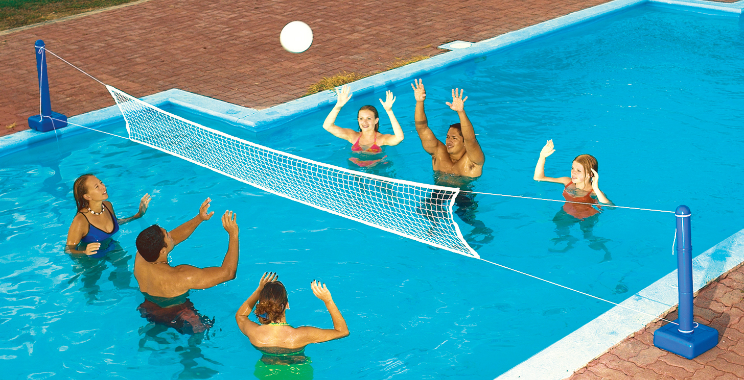 swimming pool designs for volleyball photo - 4