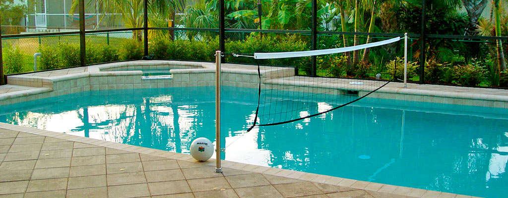 swimming pool designs for volleyball photo - 5