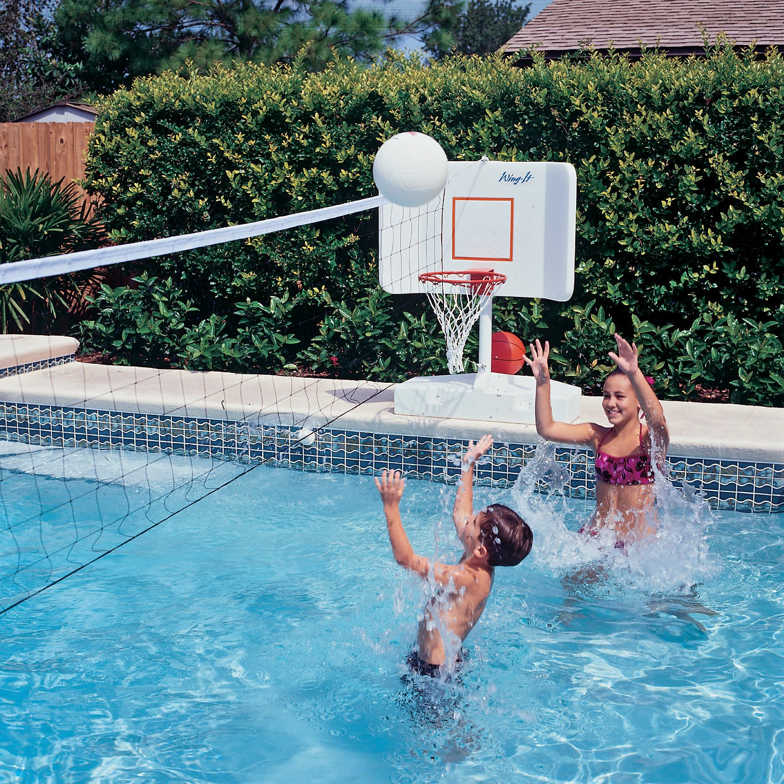 swimming pool designs for volleyball photo - 8
