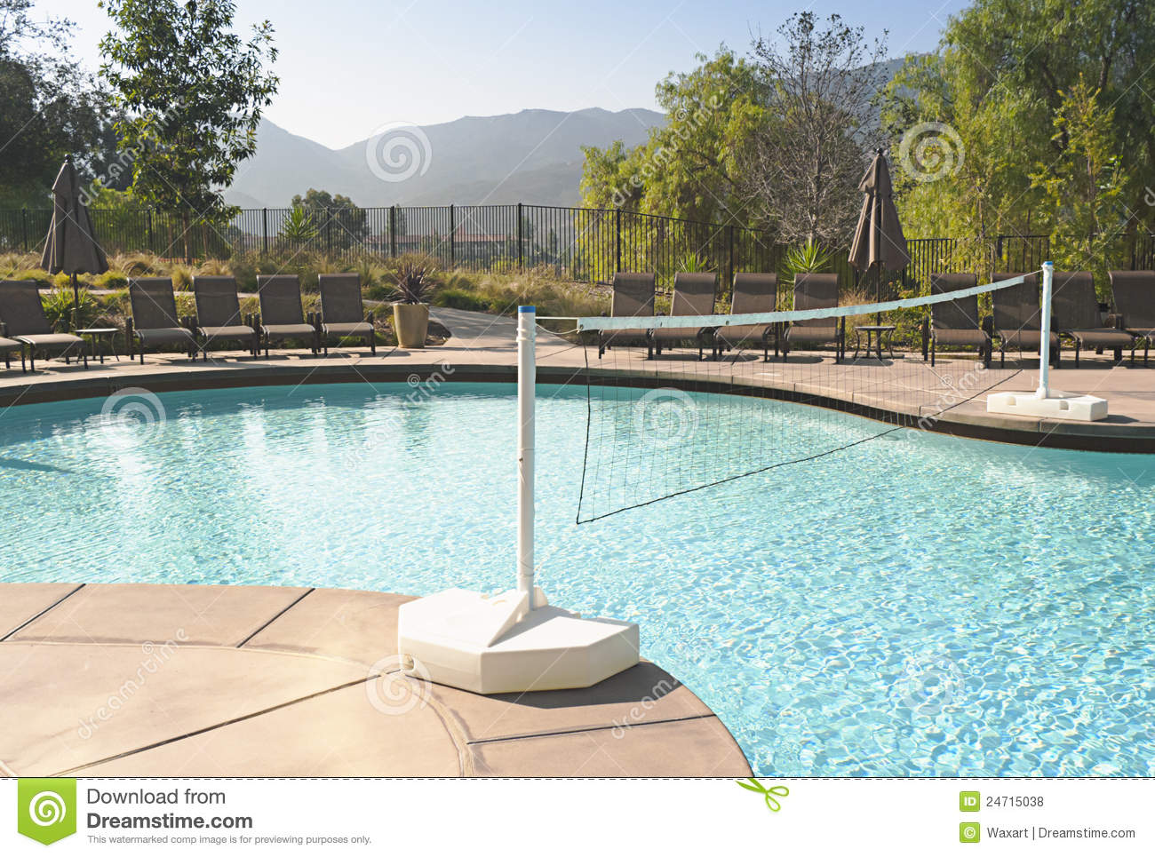 swimming pool designs for volleyball photo - 9