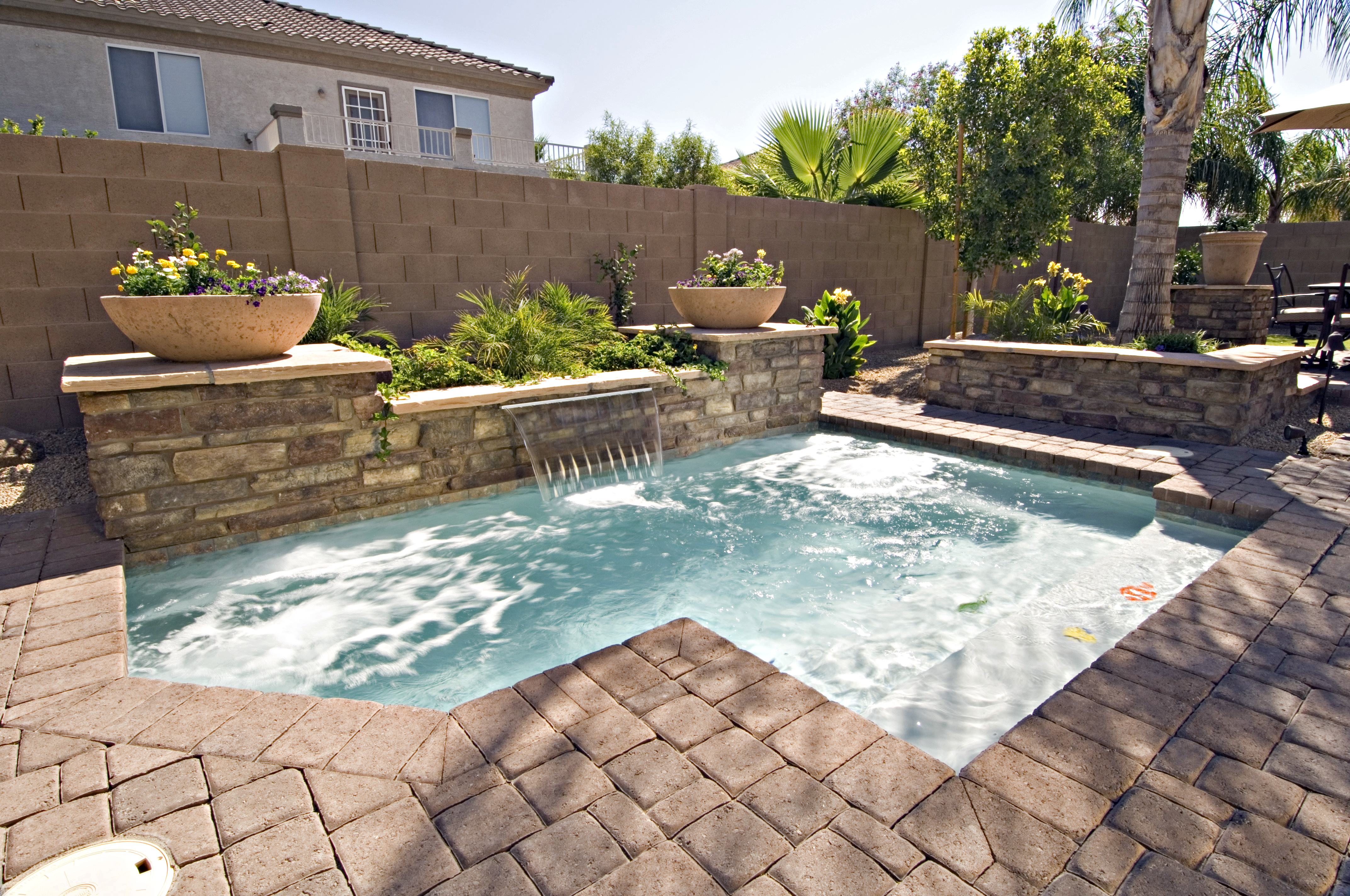 swimming pool designs small yards photo - 3