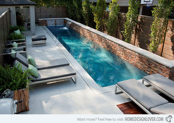 swimming pool designs small yards photo - 6