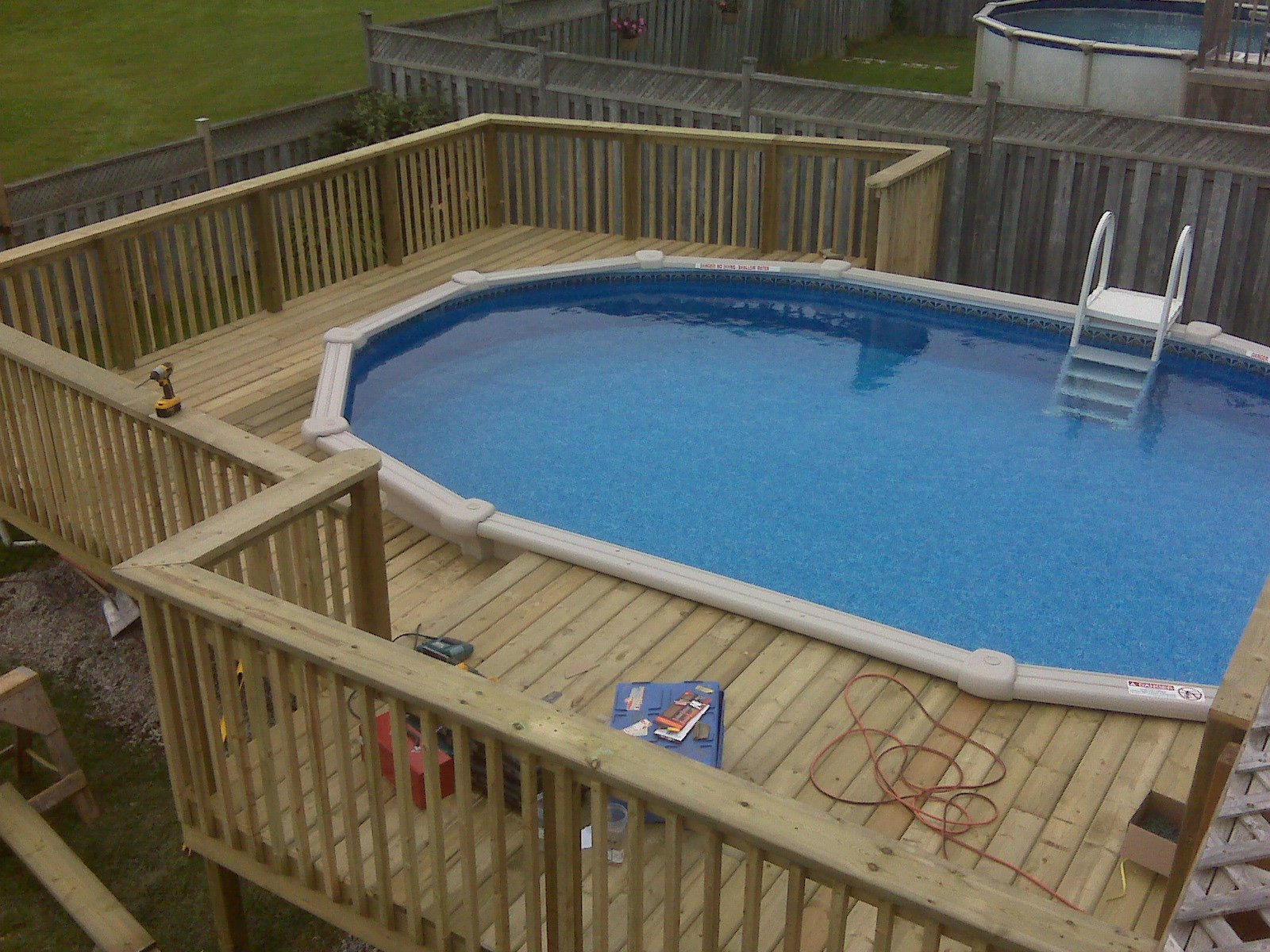 Swimming Pool Designs With Decking Photo   1