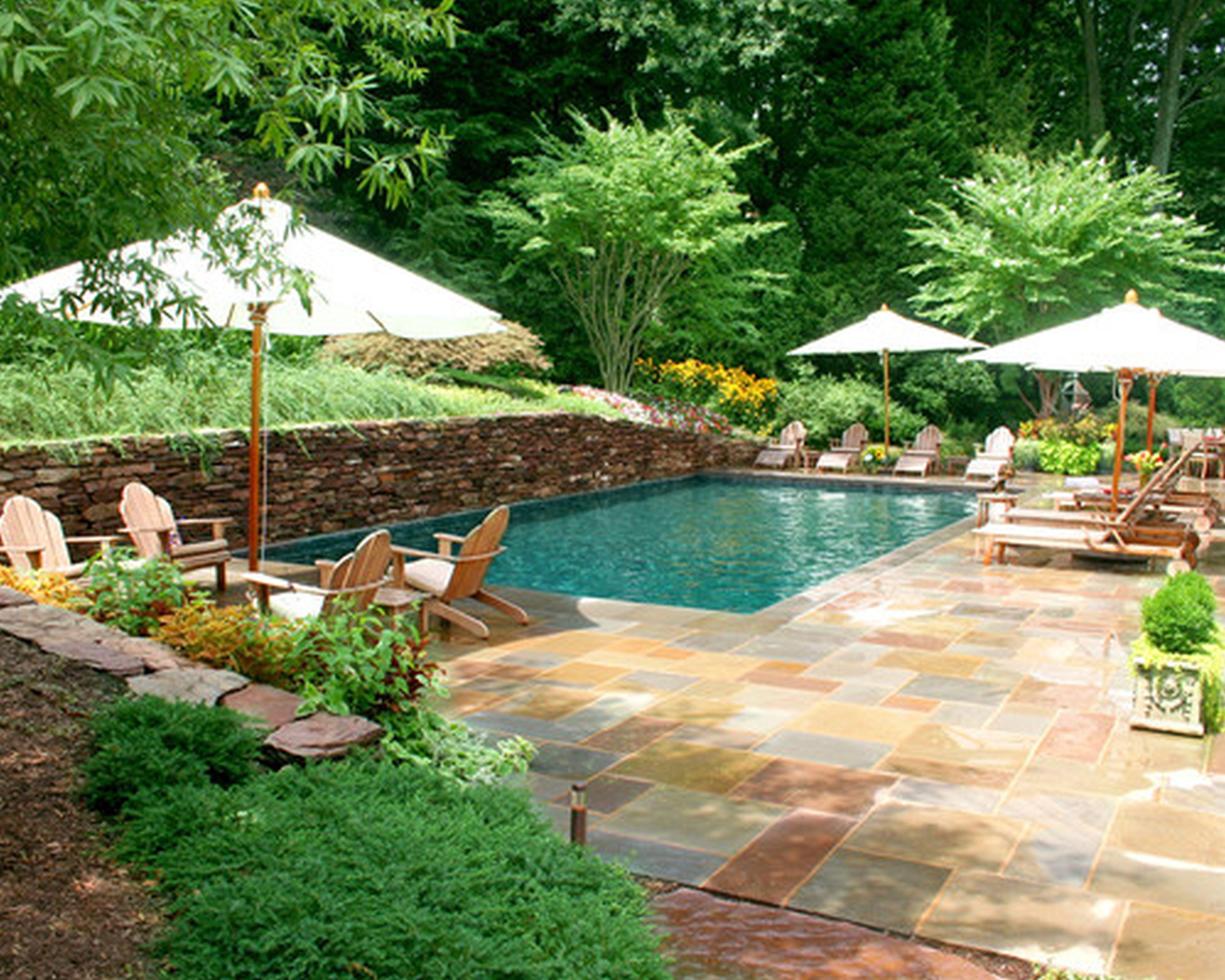 Swimming Pool Yard Designs Hawk Haven