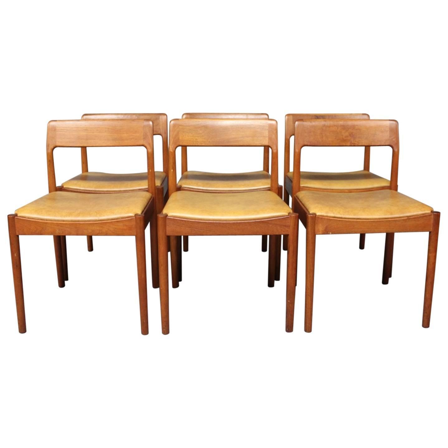 teak chairs dining room photo - 1