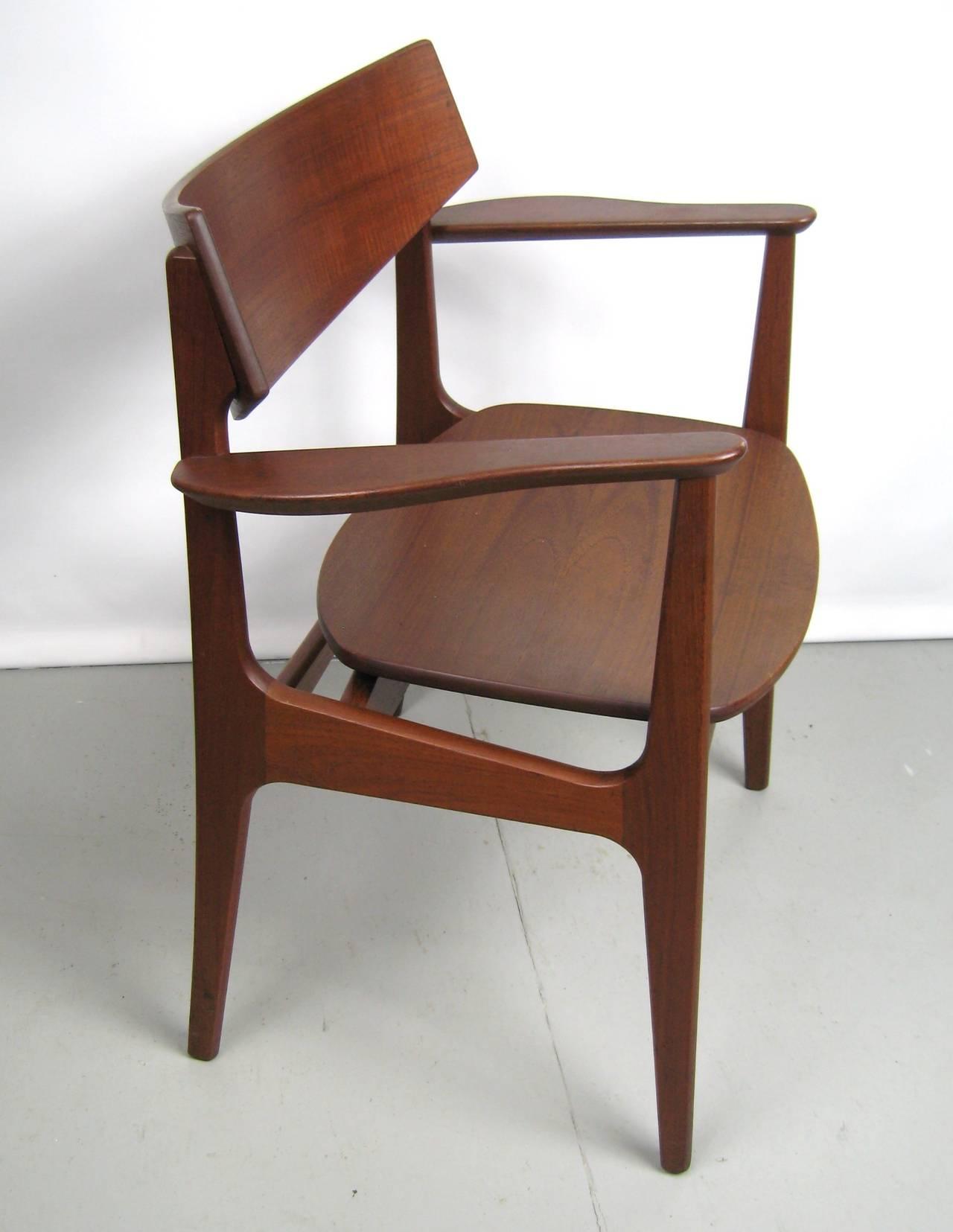 teak chairs dining room photo - 5