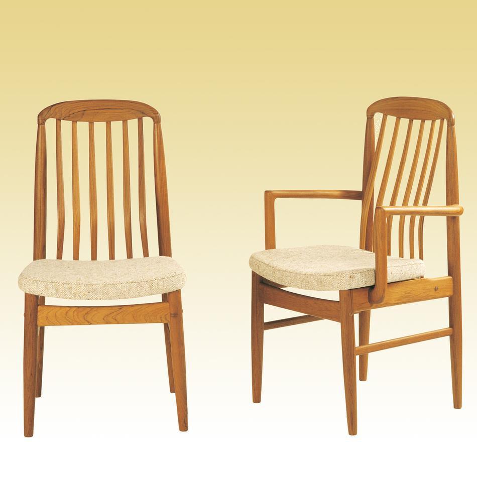 teak chairs dining room photo - 6