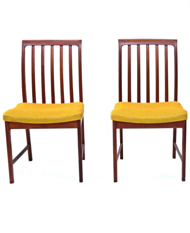 teak chairs dining room photo - 8