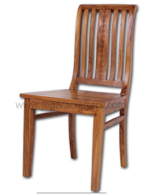 teak dining chairs indoor photo - 1