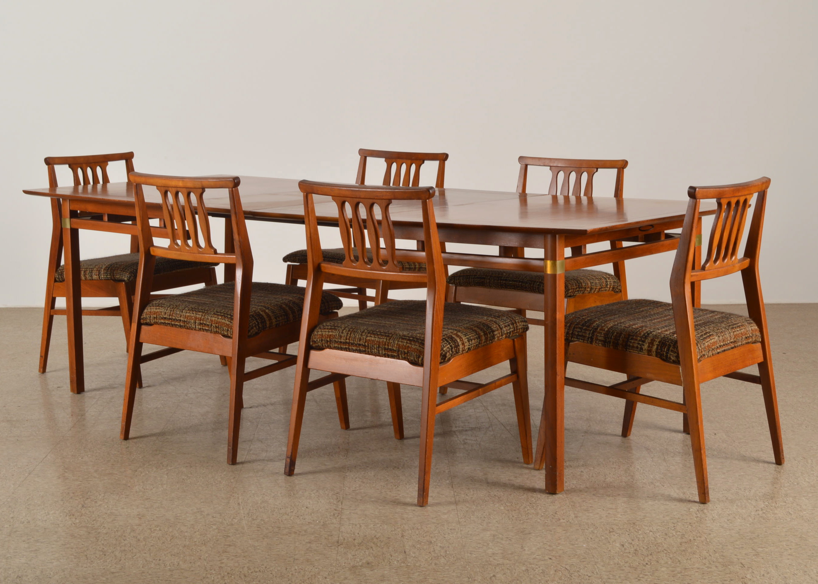 teak dining chairs indoor photo - 6