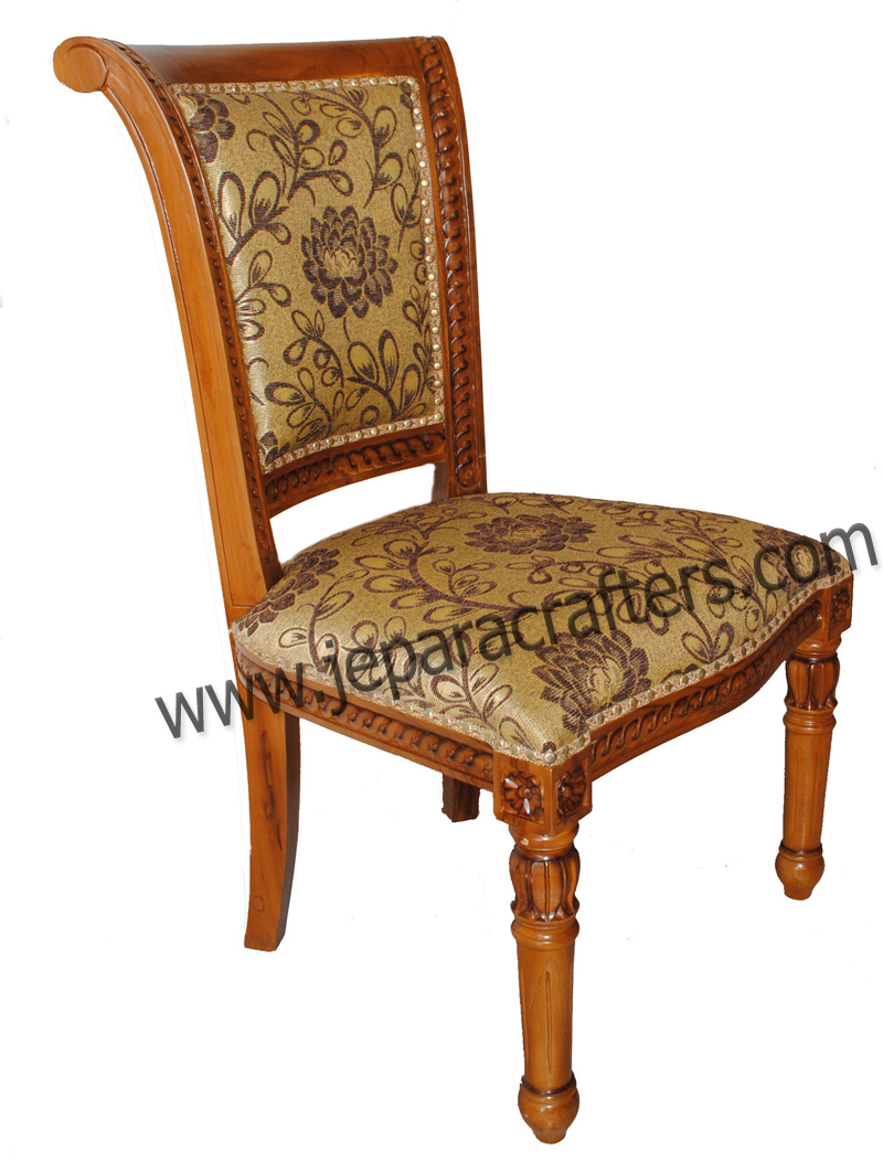 teak dining chairs indoor photo - 8