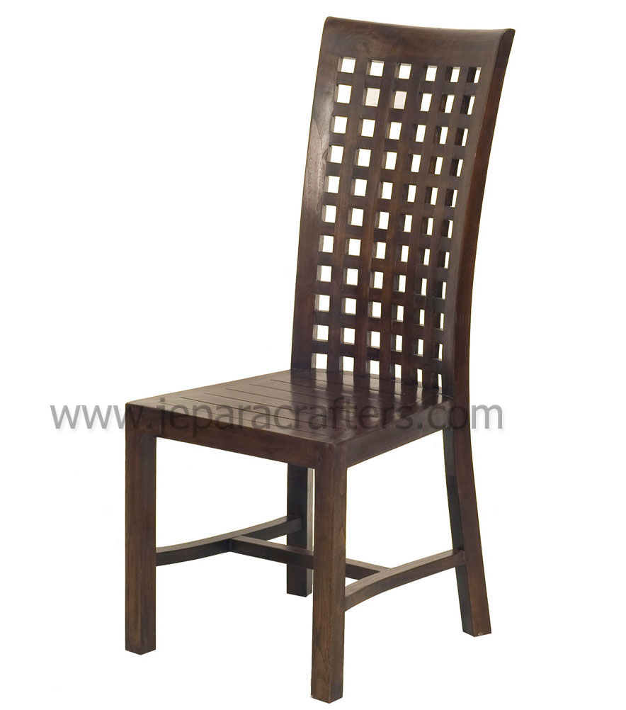 teak dining chairs indoor photo - 9