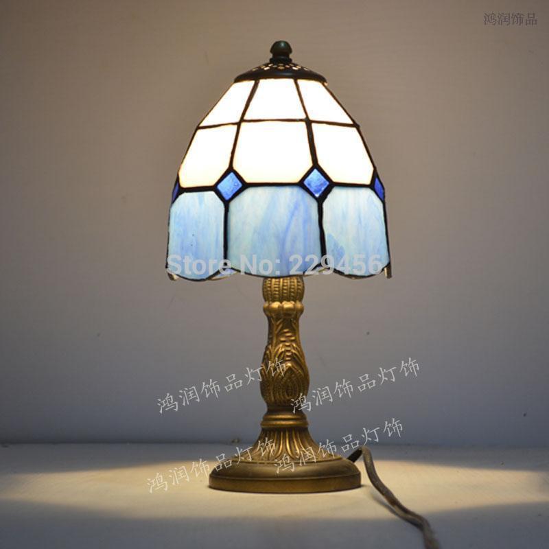 tiffany bedroom lamp photo - 1