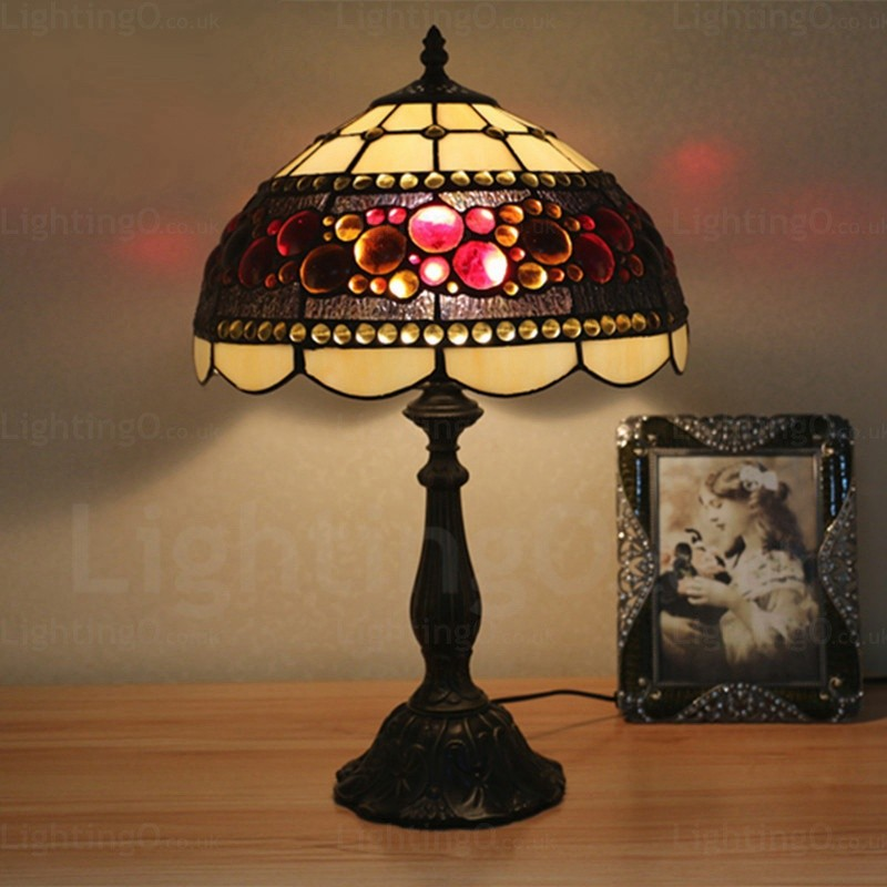 tiffany bedroom lamp photo - 10