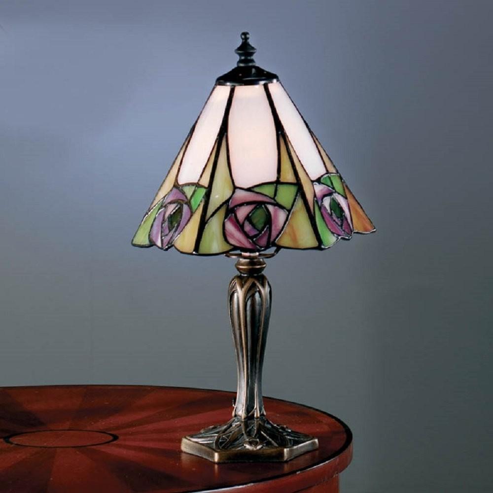 tiffany bedroom lamp photo - 6