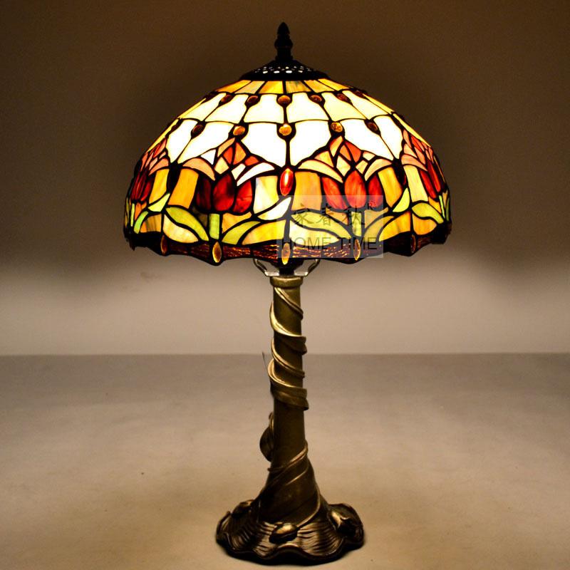 tiffany bedroom lamp photo - 7