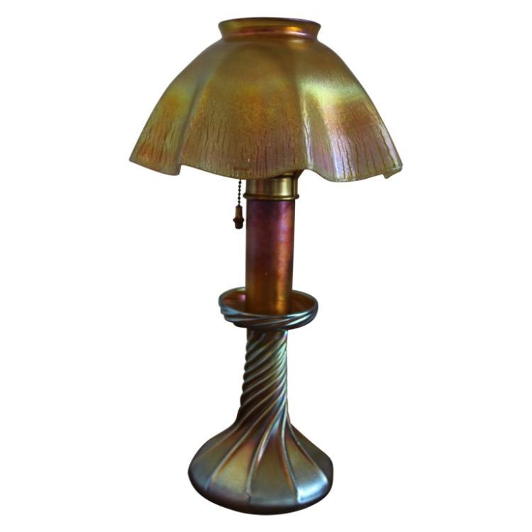 tiffany bedroom lamp photo - 8