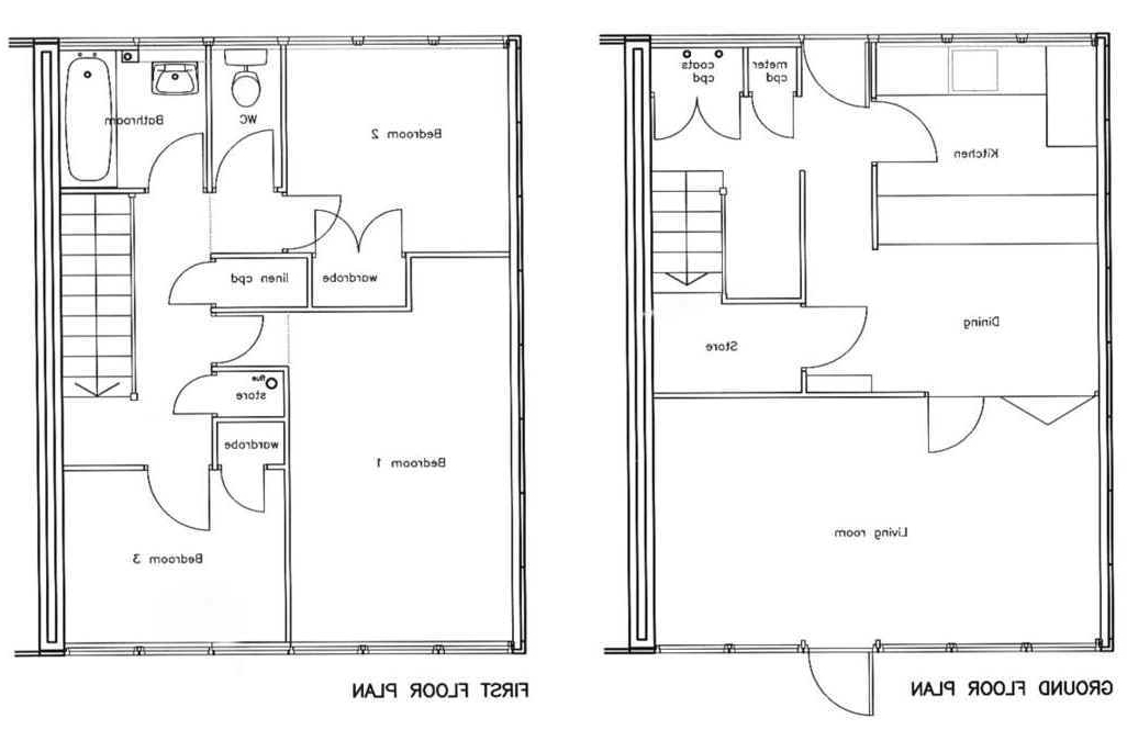 traditional 3 bedroom house plans photo - 1