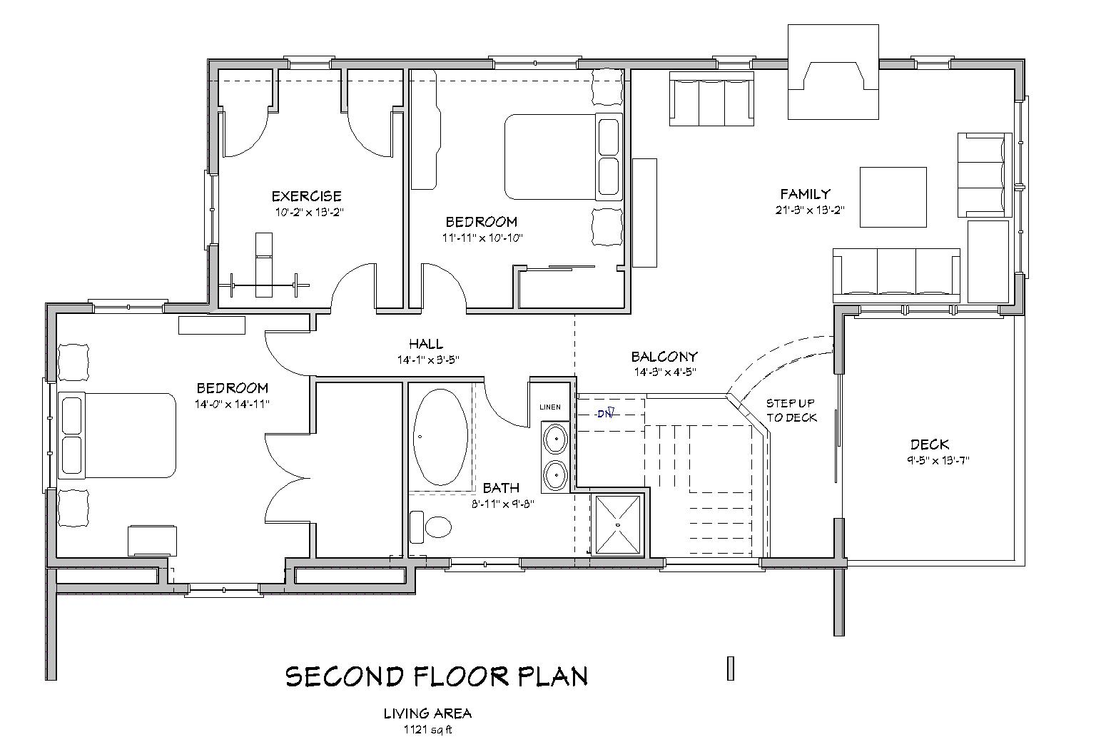 traditional 3 bedroom house plans photo - 2
