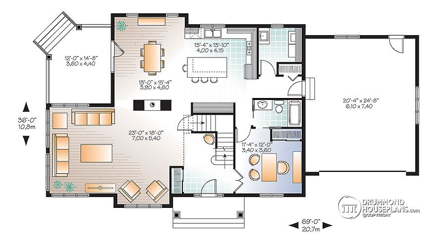 traditional 4 bedroom house plans photo - 6