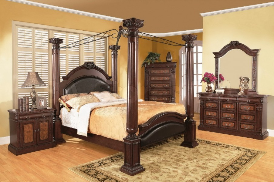 Traditional Asian Bedroom Furniture Photo   1