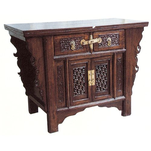 traditional asian bedroom furniture photo - 6