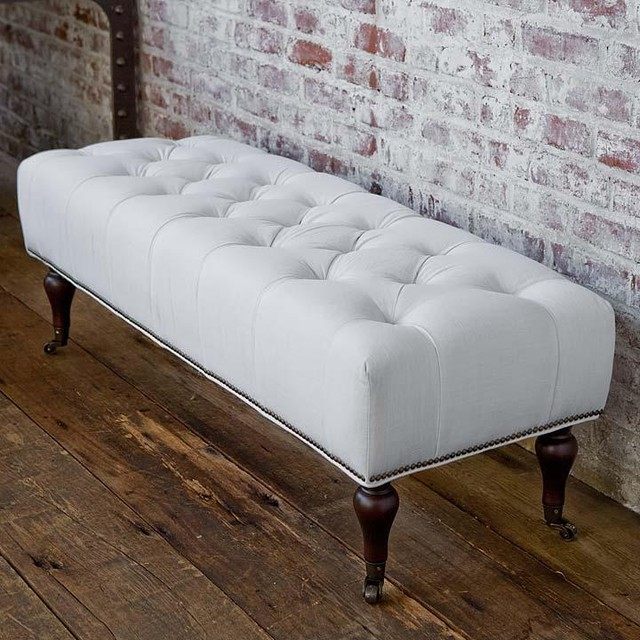 traditional bedroom benches photo - 7