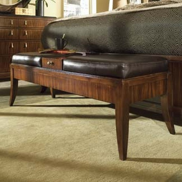 traditional bedroom benches photo - 8