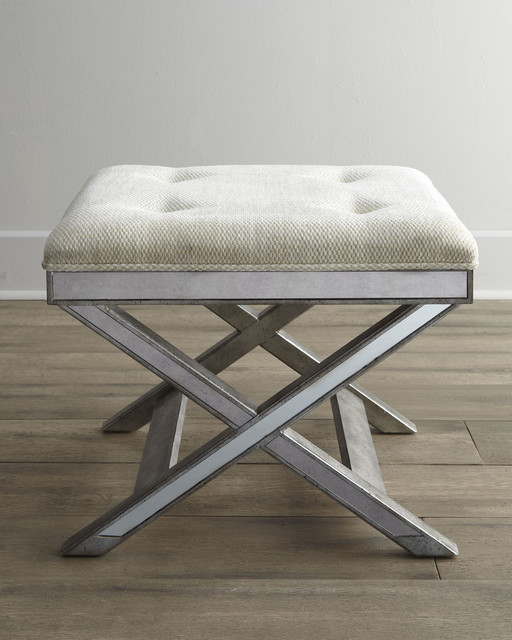 traditional bedroom benches photo - 9
