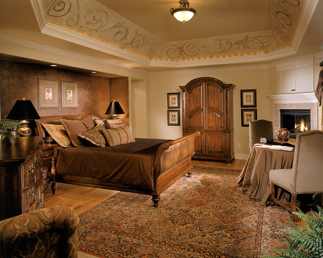 traditional bedroom ceiling light photo - 10
