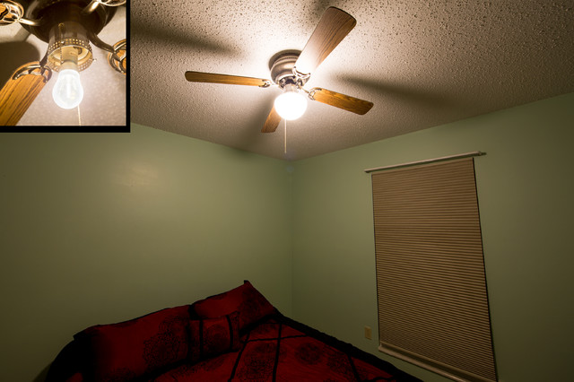 traditional bedroom ceiling light photo - 4